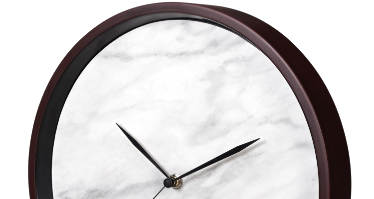 Metal Analog Wall Clock