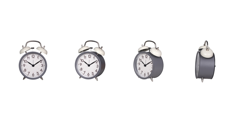 Metal Bell Twin Bell Alarm Clock