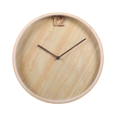 12 Wooden Wall Clock
