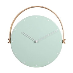 Wall Hanging Metal Clock