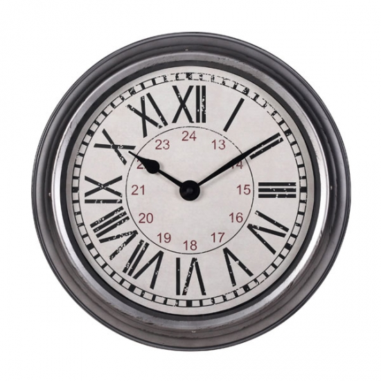 Metal Big Wall Clock