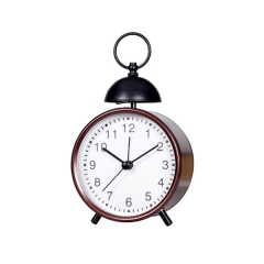 Metal Single Bell Alarm Clock