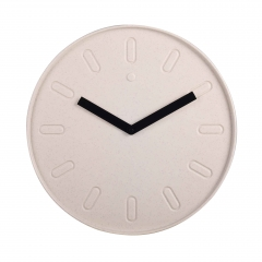 Quartz wall clock  with WPC case